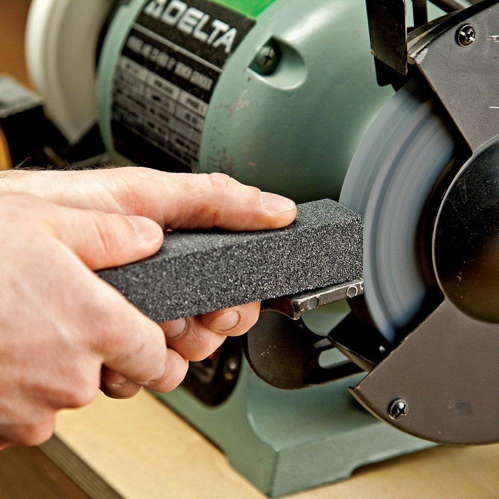 how to dress grinding wheel