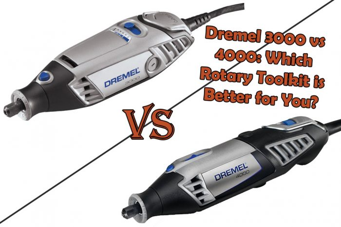 Dremel 3000 vs 4000: Find Out What YOU Need