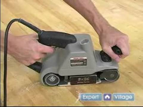 How to Sand Hardwood Floors with a Belt Sander
