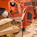a drill, one of the most essential woodworking power tools