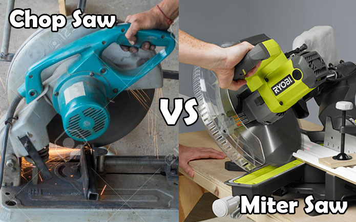 Chop Saw vs Miter Saw: Let's Find Out What You Need