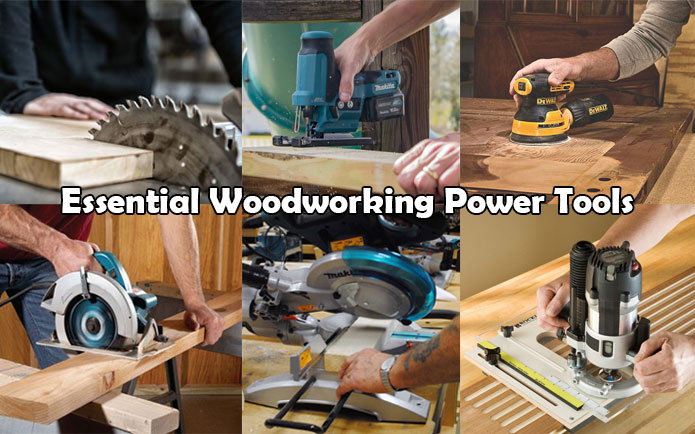 essential woodworking power tools