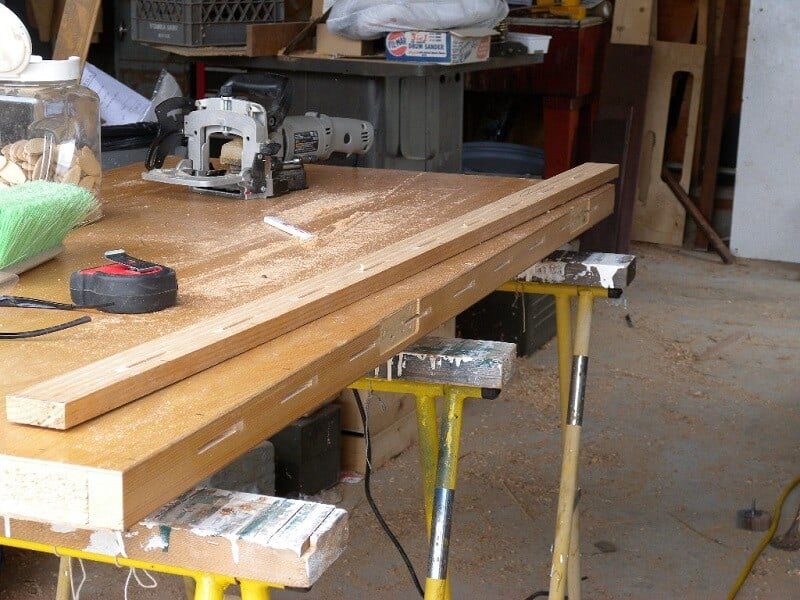 How to Make Biscuit Joints Without a Jointer