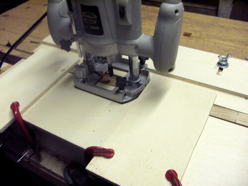 routing a mortise