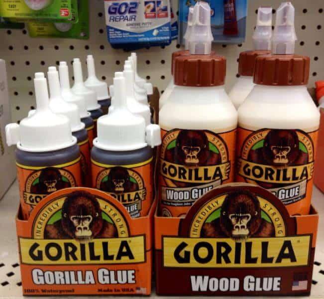 gorilla glue and gorilla wood glue