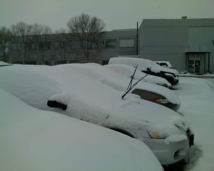car windshield up